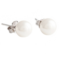 Пусеты Earrings Siclas ESICLAS 6mm BW/S
