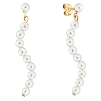 Серьги Misaki Night Pearls Gold ENIGHTPEARLSGD BW/G